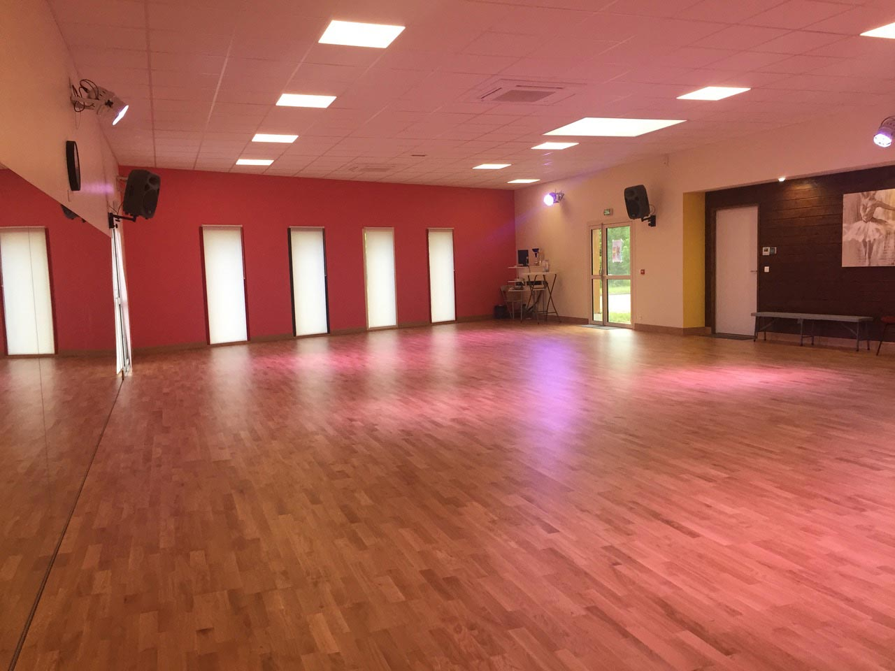 location salle danses tours nord